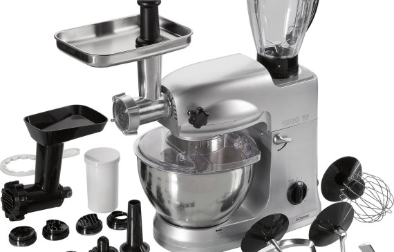 Bomann KM 367 CB Robot da cucina con impastatrice planetaria e tritacarne